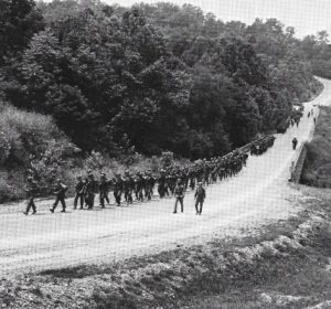 Army Training Forced Marches