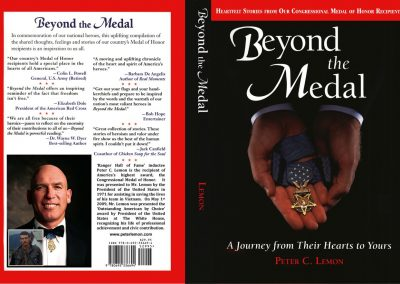 Beyond The Medal - Book Jacket